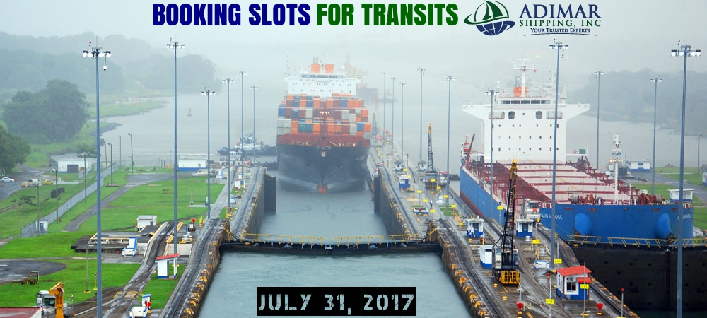 booking slots for transit