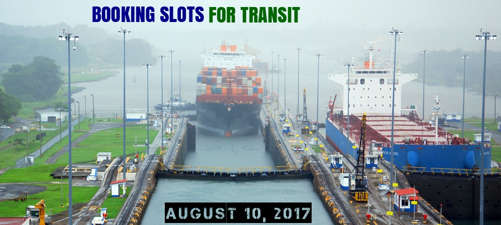 booking slots for transits