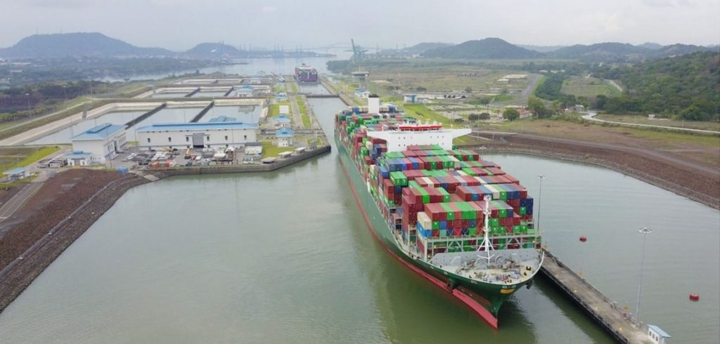 To show the largest ship that has crossed the Panama Canal